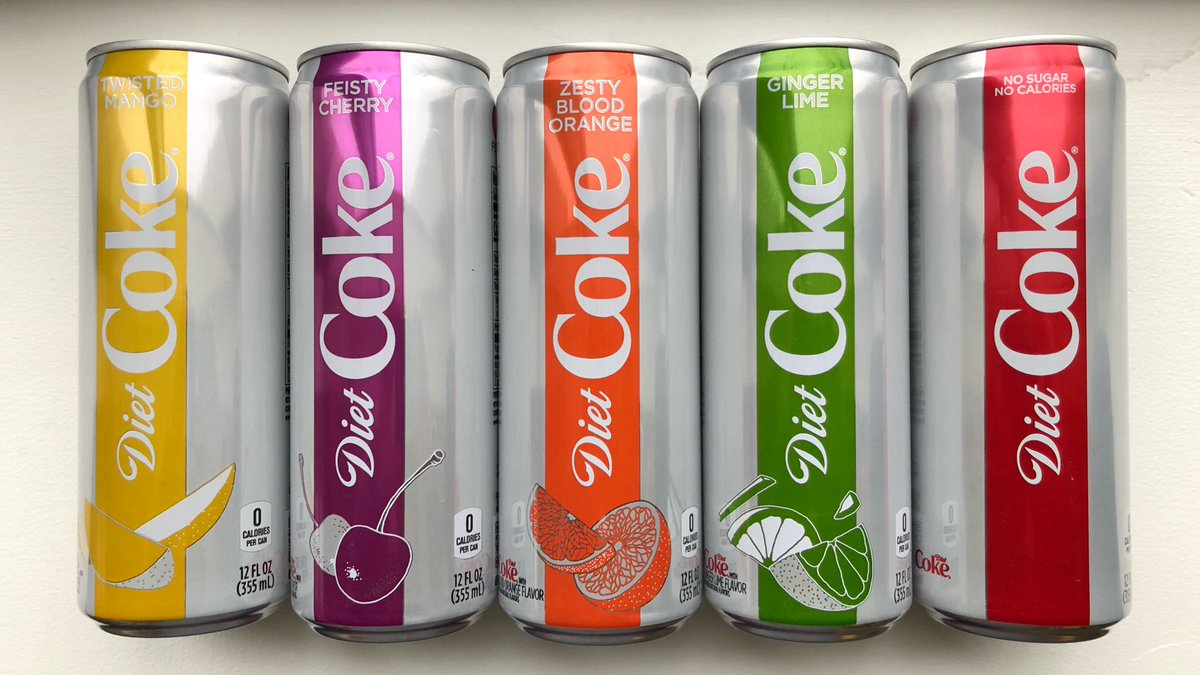 diet coke feisty cherry spicy?