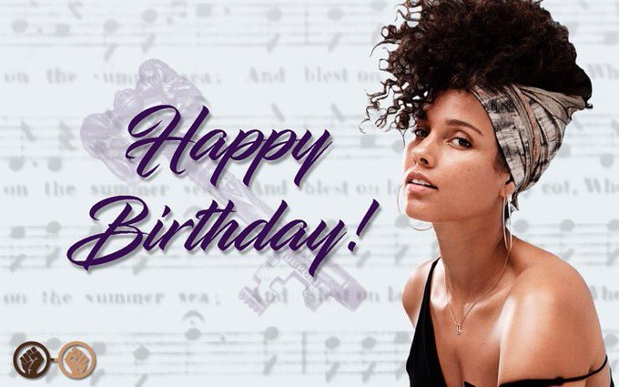 Happy birthday, Alicia Keys! The beautiful and multi-talented songstress turns 37 today!