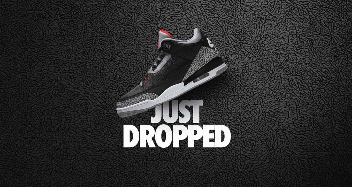 SURPRISE DROP via Nike Air Jordan