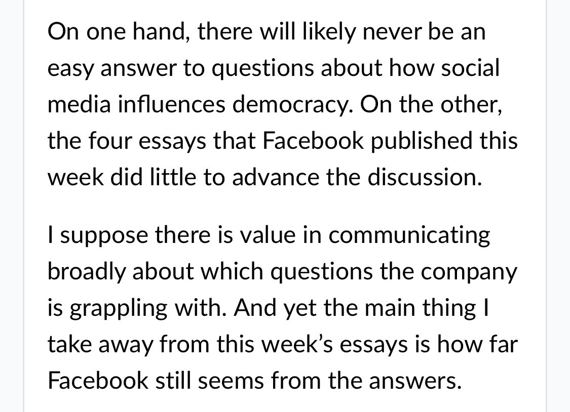 casey newton on i wrote about the essays facebook posted  i wish they had advanced the discussion more than they did