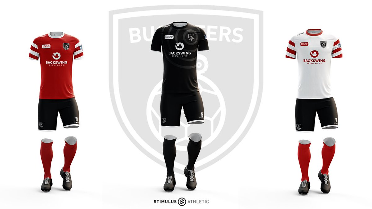 1584cf4fbd5 Stevenage FC is letting fans vote on the team s 2018-19 home and road kits  (from The Boot Room). … AIK has switched to Nike and put out an all-black  shirt ...