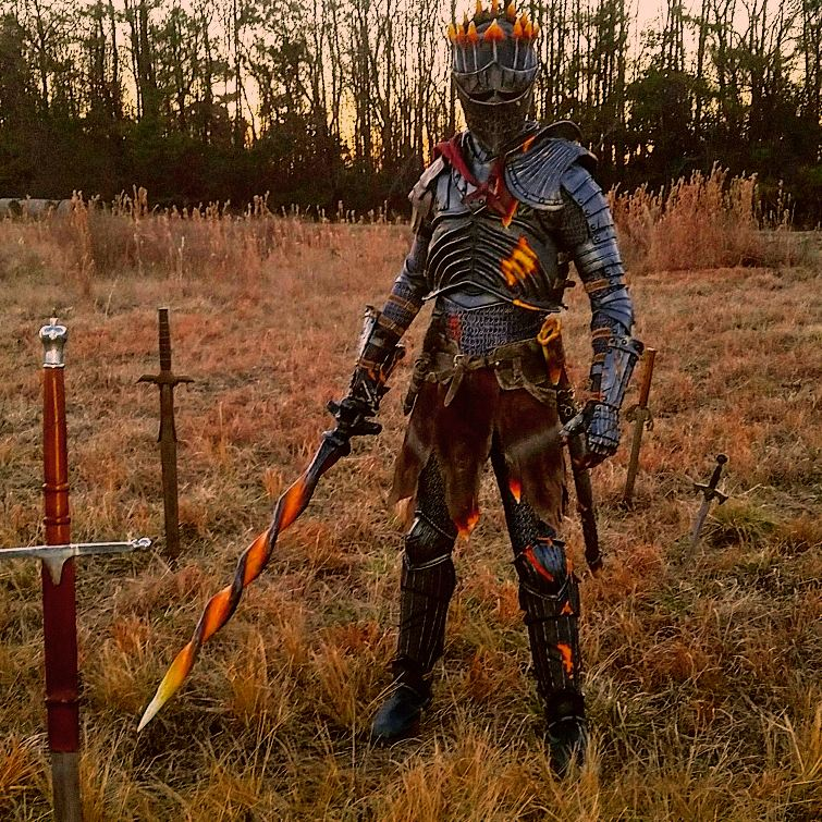 Collin A Twitter My Completed Soul Of Cinder Cosplay From Dark Souls 3 This Cosplay Definitely Challenged My Ability To Create Armor I Am So Very Proud Of The Outcome And Will