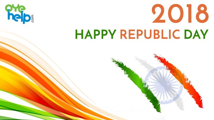 Happy #RepublicDay to fellow Indians... way to reach much more heights to develop our country to prosperous and healthy 1 in the world.  #OyeHelp #JaiHind #RepublicDay2018#गणतंत्रदिवस