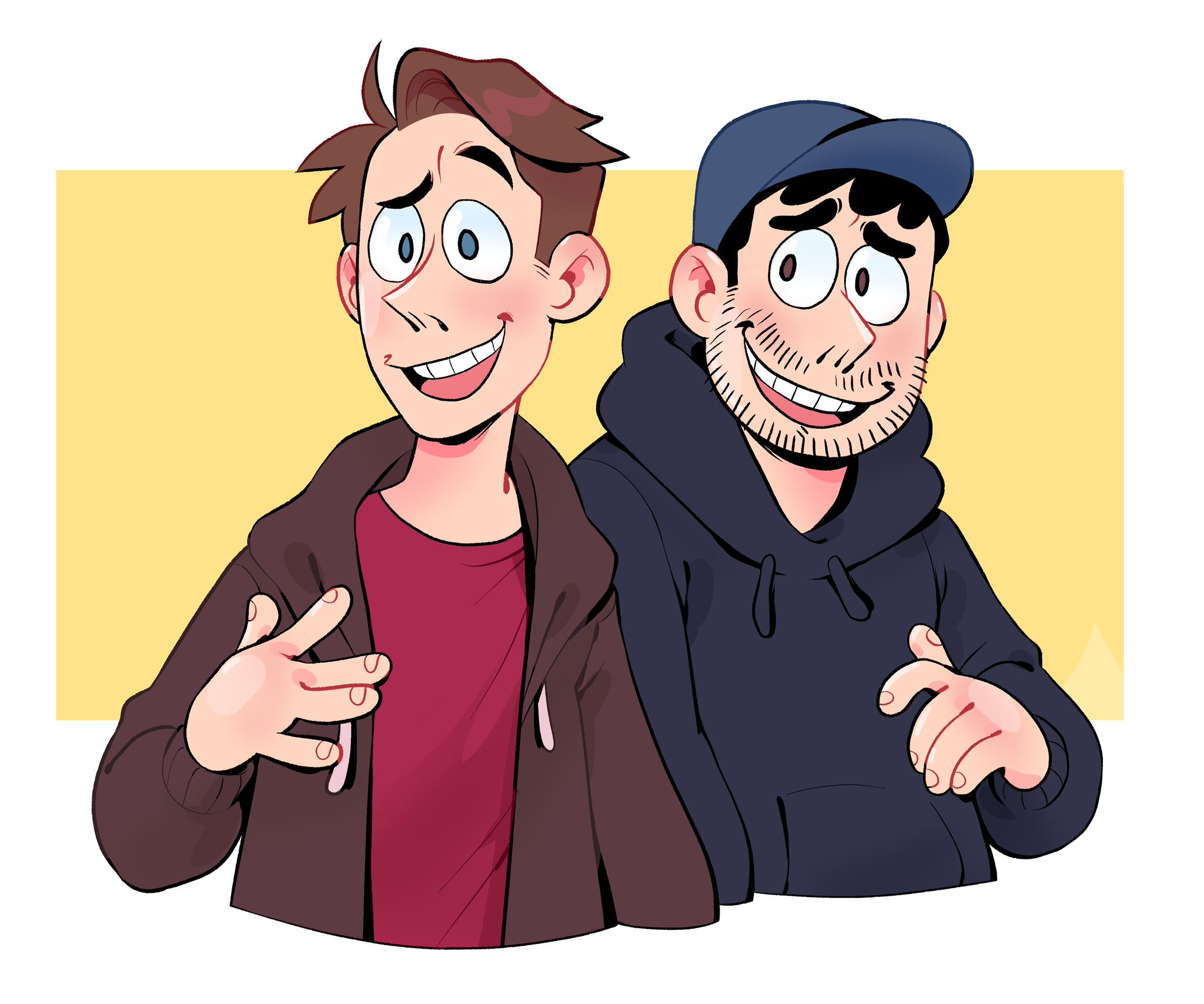 RT @K1ttensocks: Trying to learn how to draw the @SuperMegaShow boys https://t.co/tXgC6VCZBm