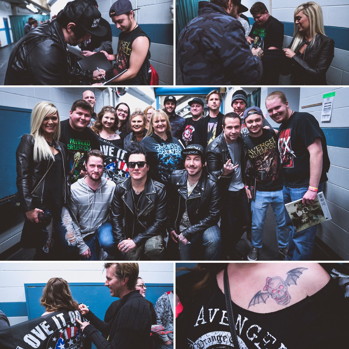 Avenged Sevenfold On Twitter Deathnation Meet And Greet Peoria