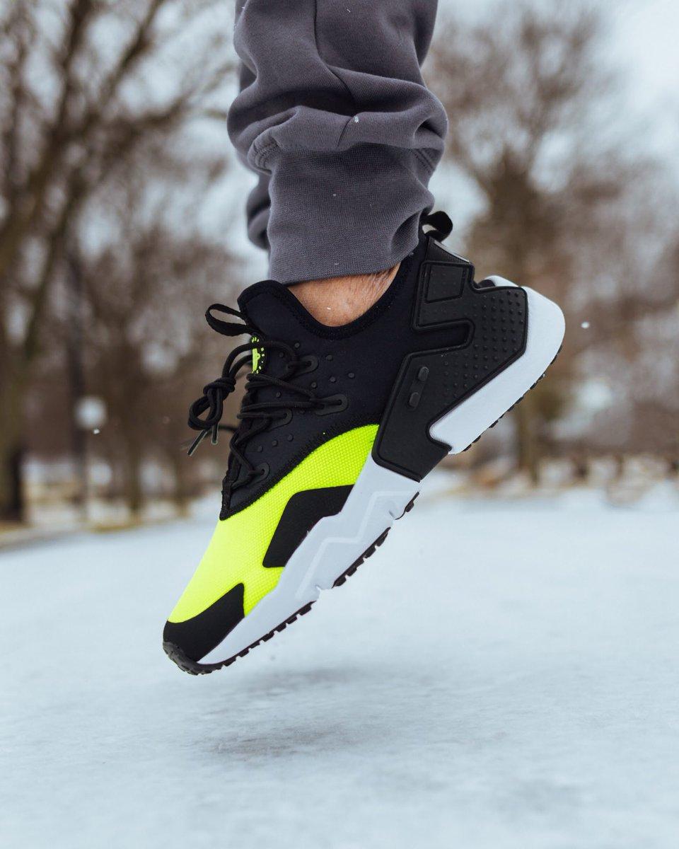 """Nike Air Huarache Drift """"Volt"""