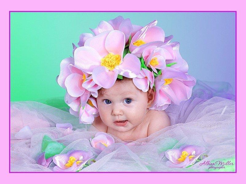 Девочке 7 месяцев фото открытки