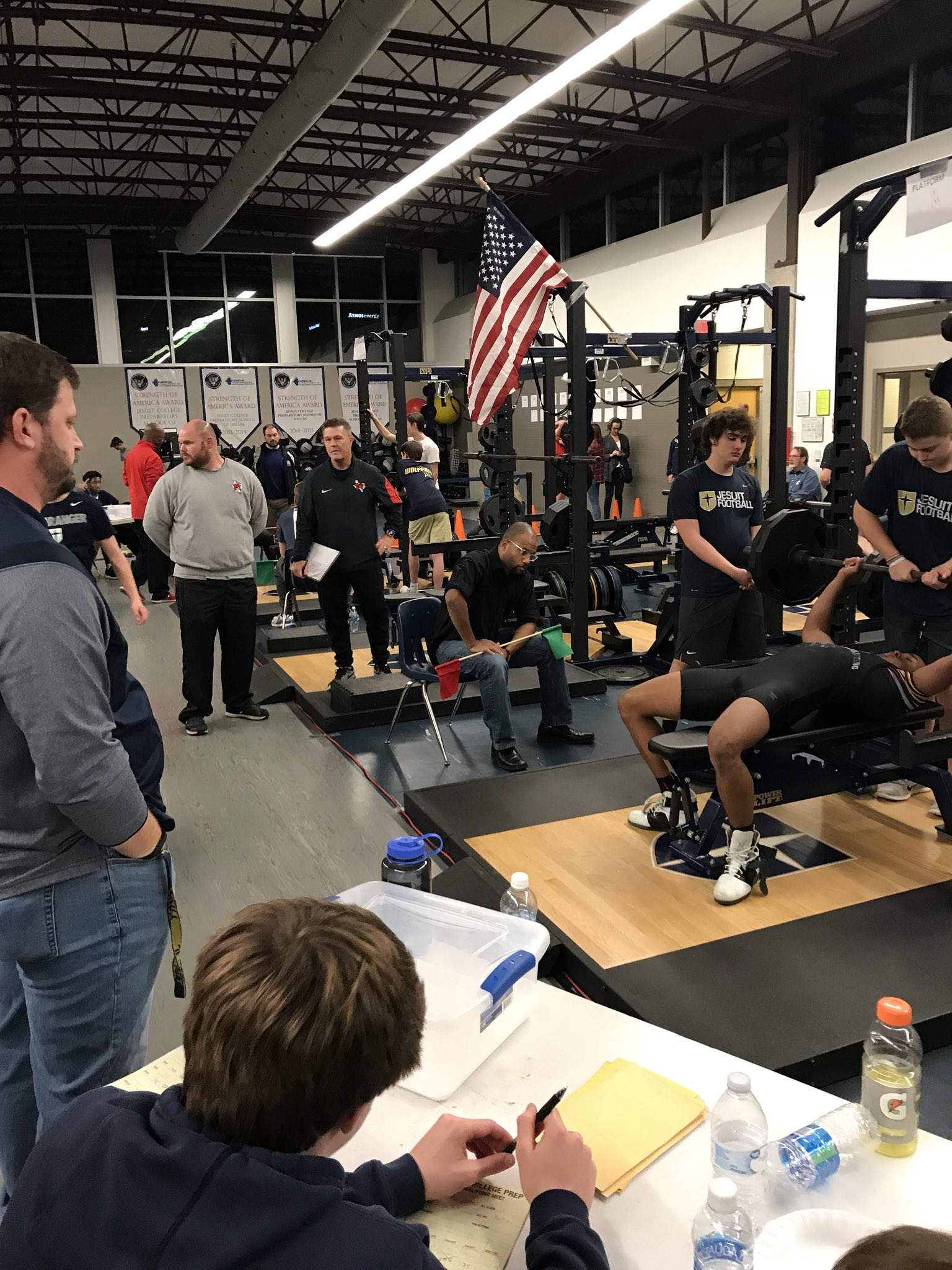 "Coach Brandon Hickman on Twitter: ""Congrats to Jesuit Powerlifting @JesuitIron and all the teams who competed tonight at the Jesuit Invitational.… """
