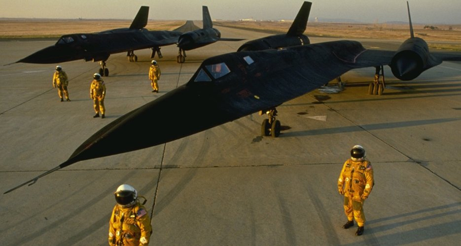 The CIA needed vast amounts of titanium to construct the SR-71, so it created fake companies throughout the world to purchase the metal from the biggest supplier, the USSR. In turn, the SR-71 spied on....the USSR.
