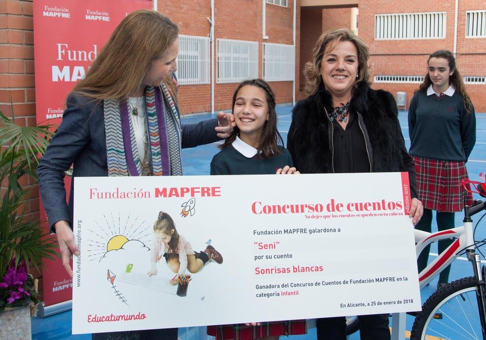 Инфанта Элена наградила школьников премией Фонда  Mapfre