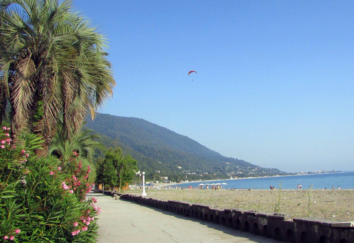 Абхазия фото достопримечательности пляжи двор