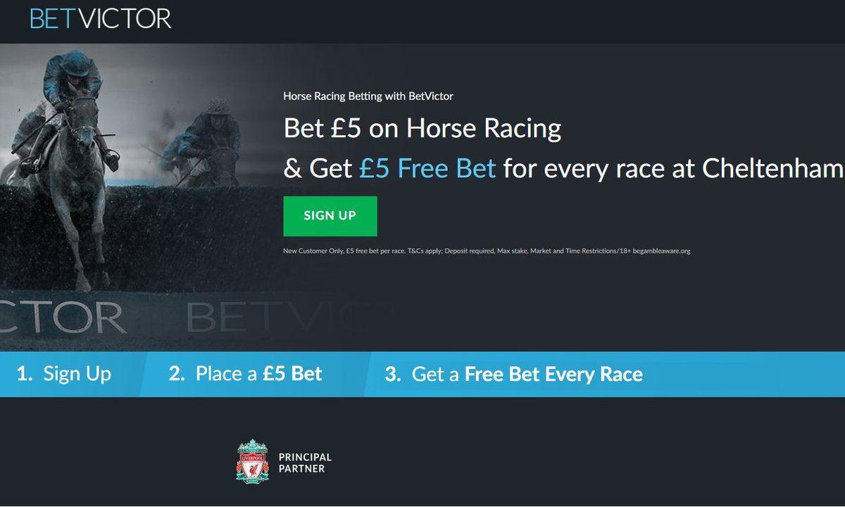 BetVictor horse racing betting bonus