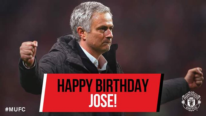 We wan wish Jose Mourinho happy birthday.   By God\s grace, e go lead us to Champions League glory.