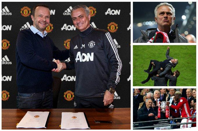 Happy 55th birthday to Jose Mourinho!  99 games 61 wins 3 trophies