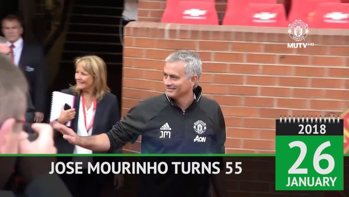 Happy Birthday to Man Utd boss Jose Mourinho! One of the most successful managers of all time.