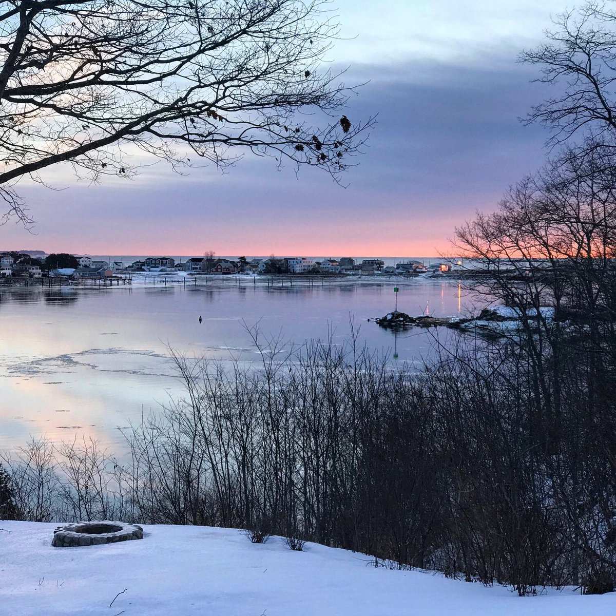 James Herbert On Twitter Mid January Sunrise From The Biddeford Campus I Am Still Awestruck Every Day By The Breathtaking Beauty Of Maine Mainesunrise Highered Https T Co Qmm8frsegp