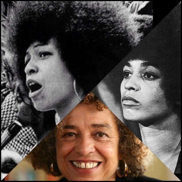 """Radical means simply grasping things at the root\""... Angela Davis..Happy Birthday!!"