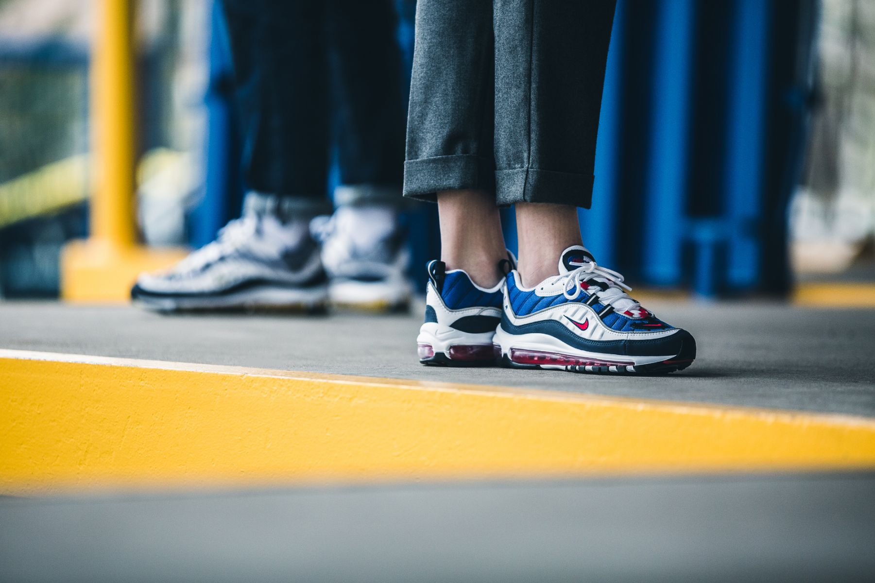 air max 98 on feet women