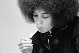 """We have to talk about liberating minds as well as liberating society.\"" Happy birthday queen, Angela Davis."