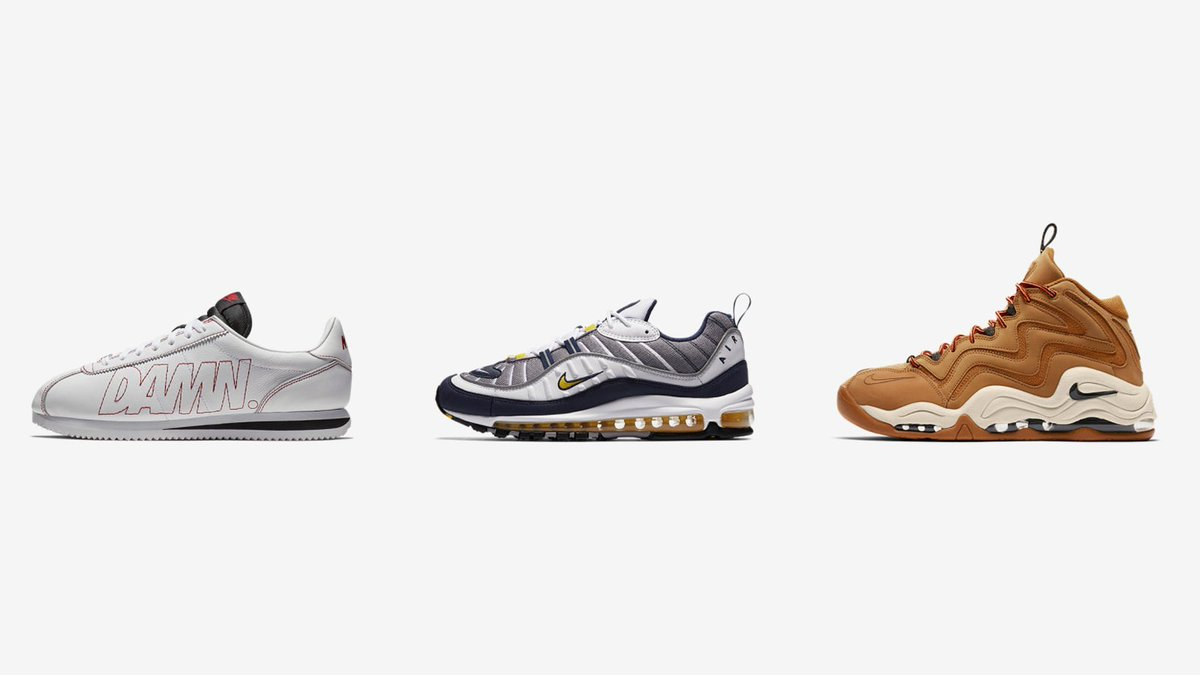 6fbd4f99d930 January 26 Release via SNKRS dropping in 20mins Nike Cortez Kenny 1     http   bit.ly 2EI7PDk Nike Air Max 98  Tour Yellow      http   bit.ly 2mUfIOz Nike Air ...