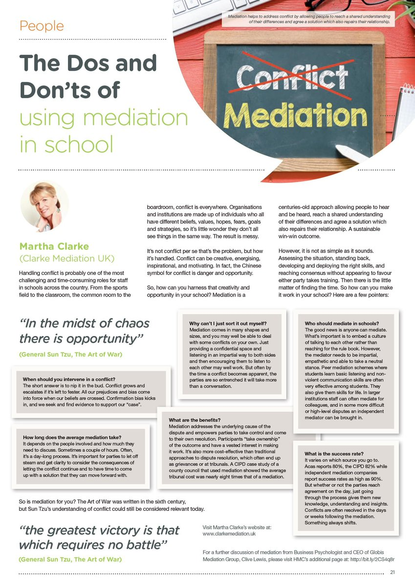 Hmc On Twitter Hear From Martha Clarke Of Clarke Mediation Uk Who
