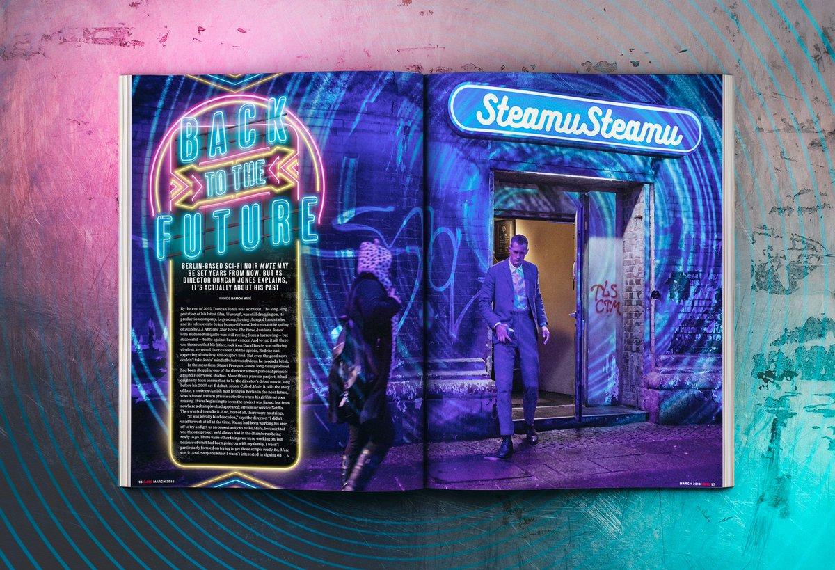 ... Mute's director, Duncan Jones (aka ManMadeMovies)(x),and Empire  Magazine ...