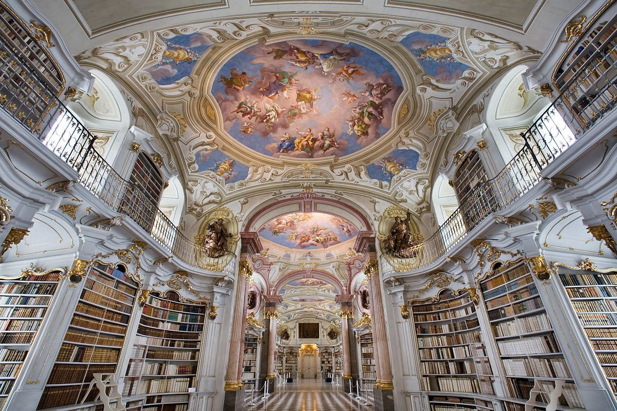 Novelicious On Twitter A Library Is Infinity Under Roof Gail Carson Levine Reading Writing Books Love Admont Abbey Austria