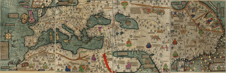 Brilliant maps on twitter stunning 1375 world map from the catalan 1238 pm 27 apr 2018 gumiabroncs Image collections