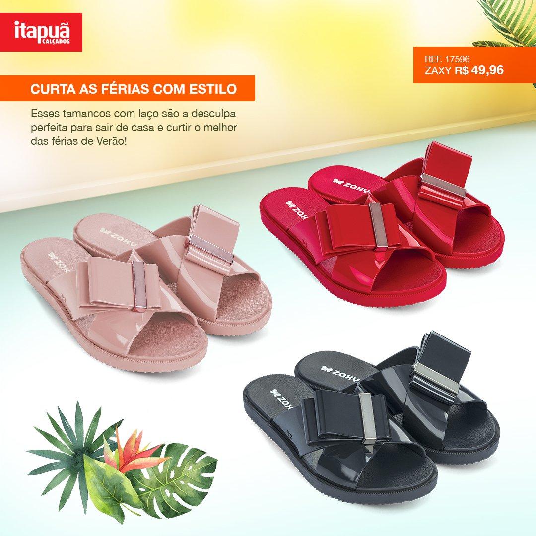 59da7c1631  Tamancos com  verniz dão o brilho que os seus  pés precisam! Vem pra   Itapuã e aproveite o melhor do  Verão! Temos  ofertas incríveis esperando  por ...