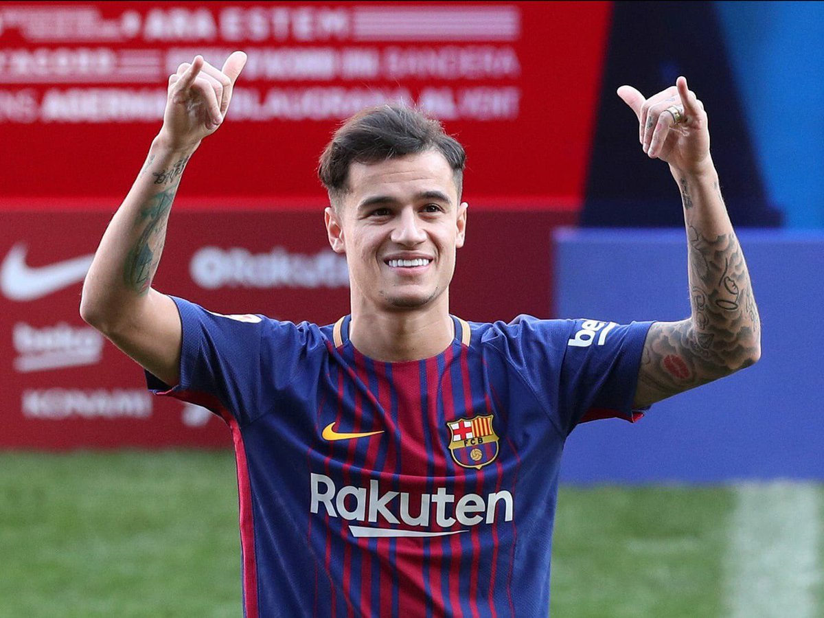 Philippe Coutinho will be the first player since 1990 to play for Liverpool and also win a league title in the same season.