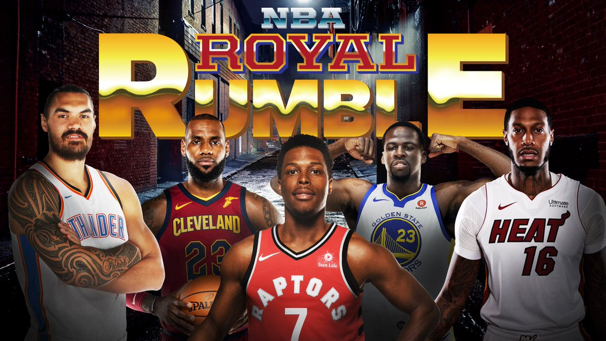 Sportsnet On Twitter The Nba Royal Rumble Is Here Can Kyle The Bulldog Of Bay Street Lowry Go All The Way Cast Your Vote For The Winner Using Nbarumble Https T Co Nmdmvmeeiq Https T Co Fzvwhl1dy1