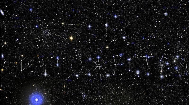 Картинки созвездий с надписями, слова картинки