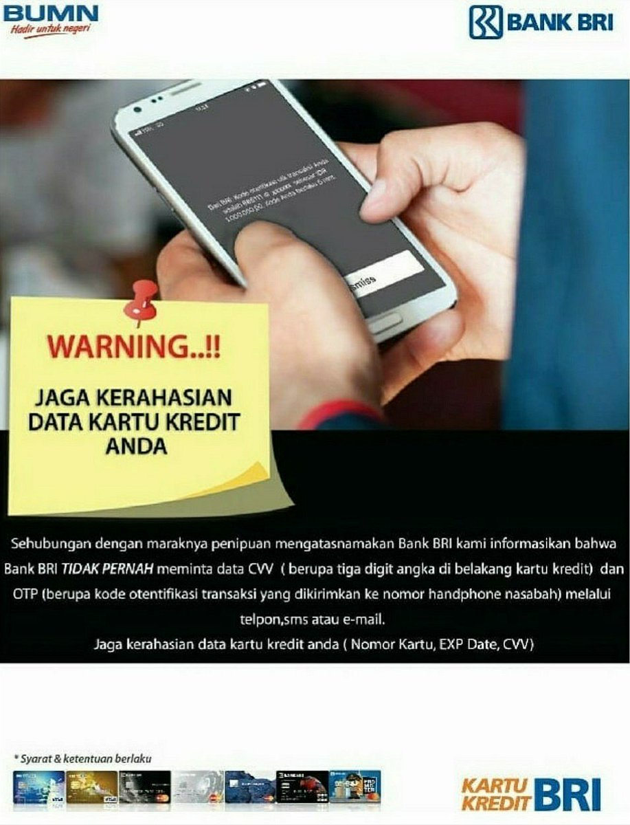Contact Bri On Twitter Sahabat Bri Ingat Kode Otp Kode