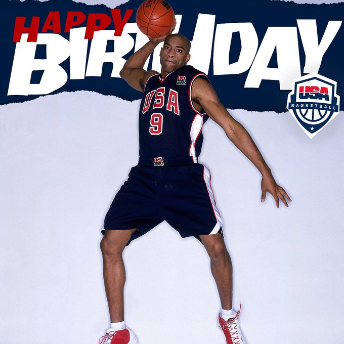 A true aerial artist.  to wish Vince Carter a happy birthday!