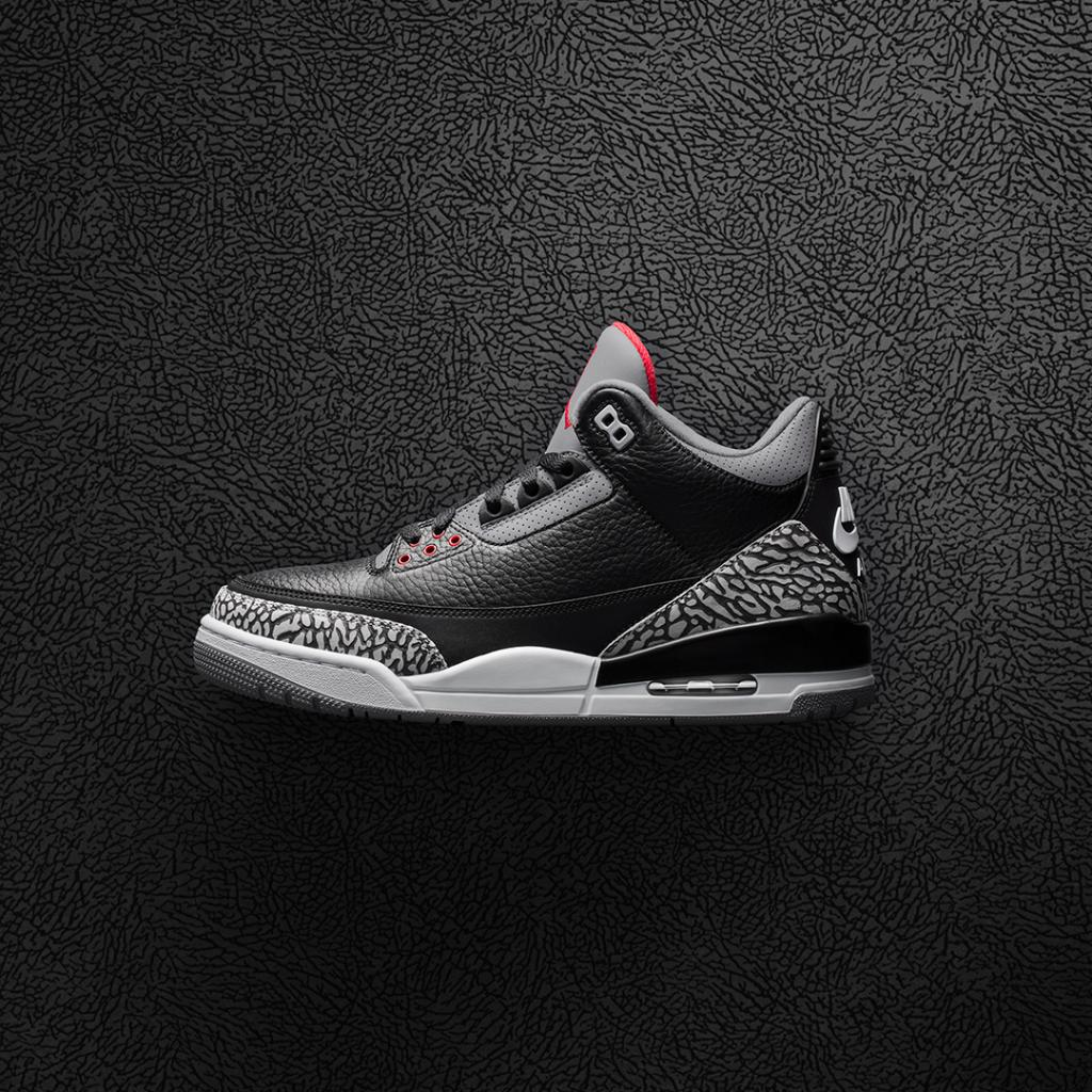 the latest a0c59 a9d24 ... low price foot locker on twitter the black cement air jordan 3 returns  in true og