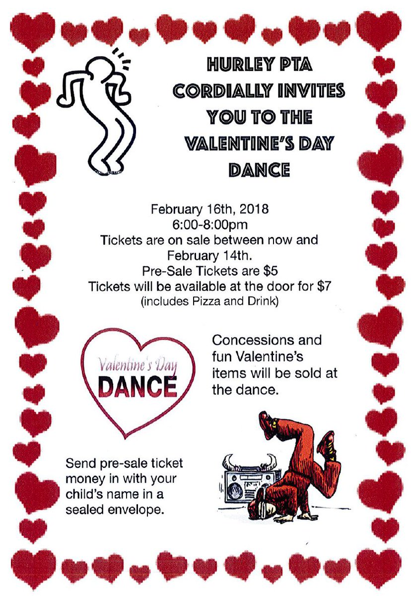 Hurley Elementary On Twitter Hurley S Valentine S Day Dance
