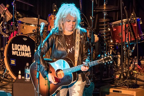 Happy birthday, Lucinda Williams! 65 candles. (