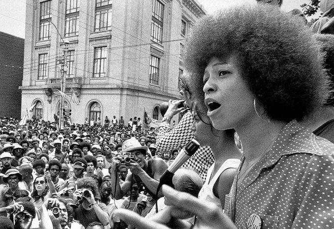 Happy Birthday to Ms. Angela Davis! Thank you for your leadership and activism.