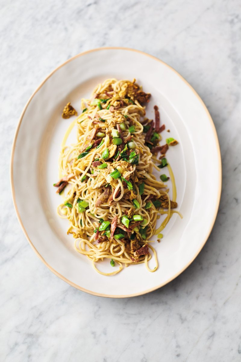 Jamie oliver on twitter such an easy one to knock together in just ham egg curried noodles just 5 ingredients p258 screenshot your shopping list egg noodles spring onions roast ham curry powder eggs ccuart Choice Image
