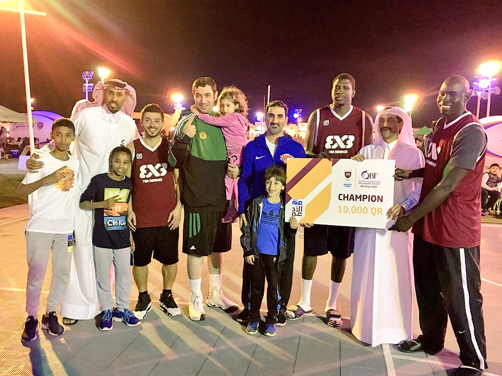 Team Qatar win Inaugural Winter Camp Basketball Tournament with stunning performance at Sea Line Beach