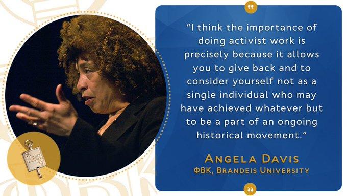 Happy Birthday to Angela Davis!