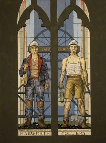 Image result for harworth miners window