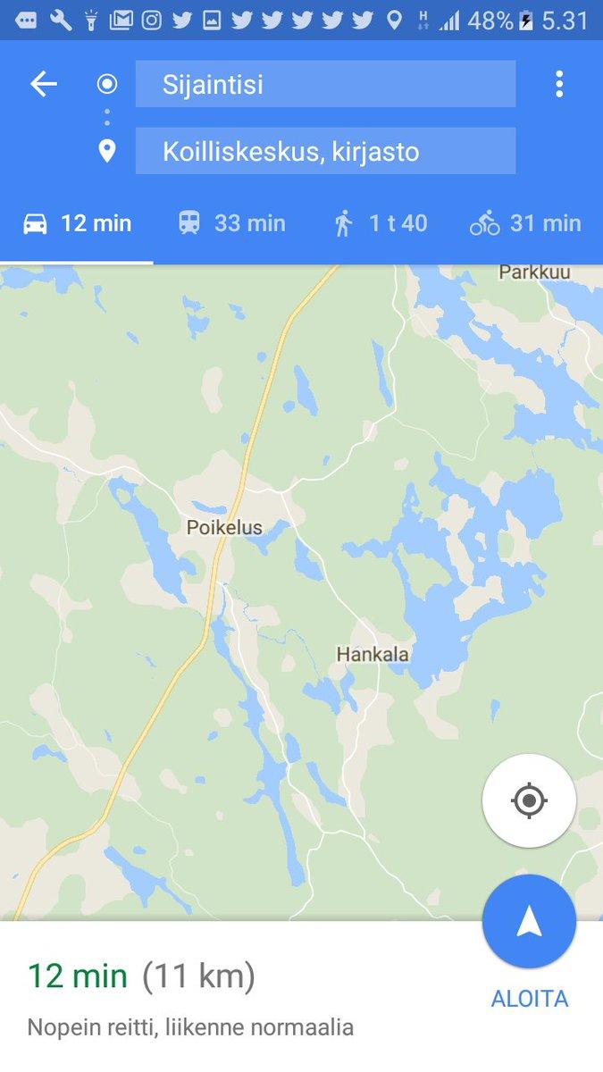 Veli Vuorenrinne On Twitter Kartta Lipsahti Jonnekin Pohjoiseen