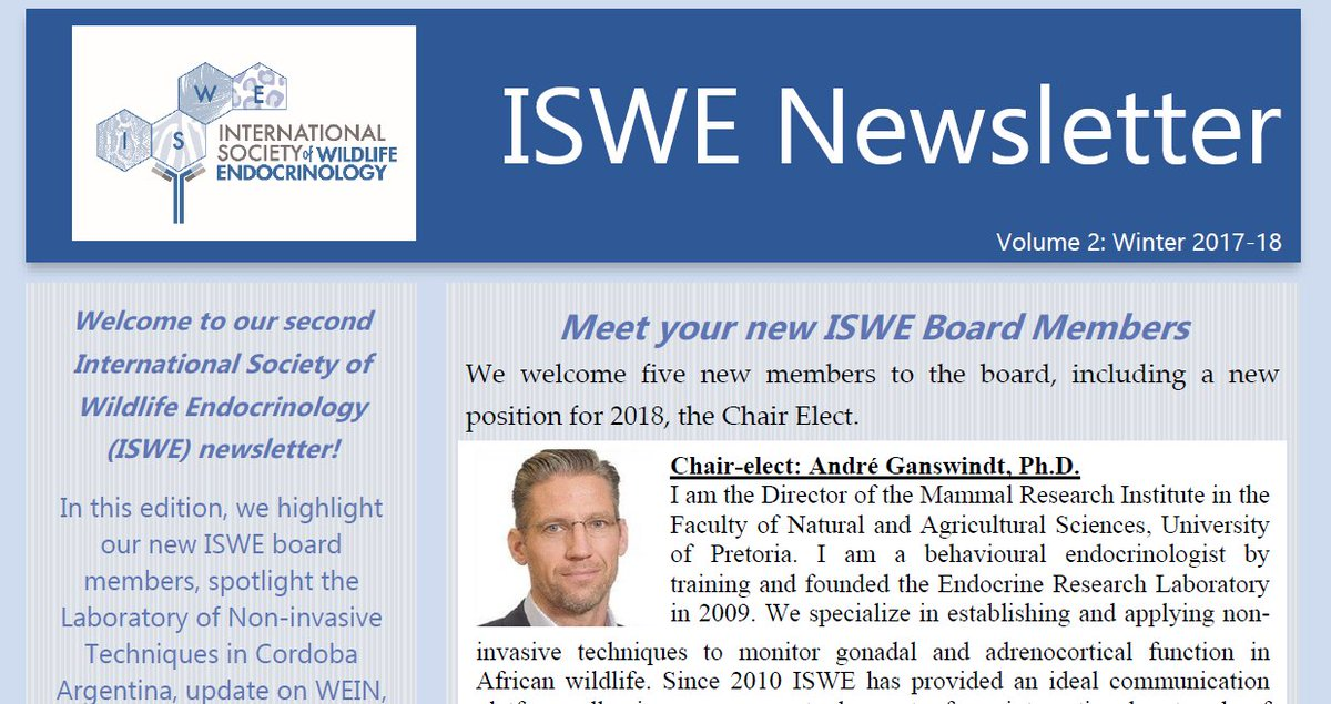 ISWE on Twitter: