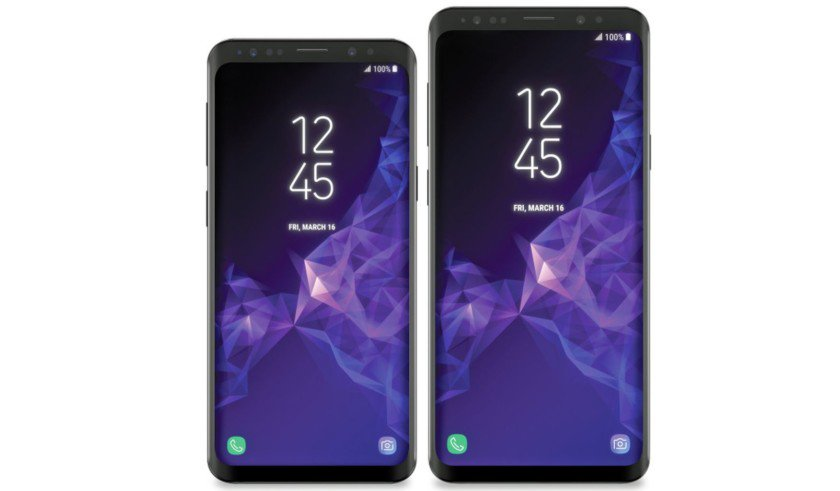 Latest Galaxy S9 and S9 Plus render leak...