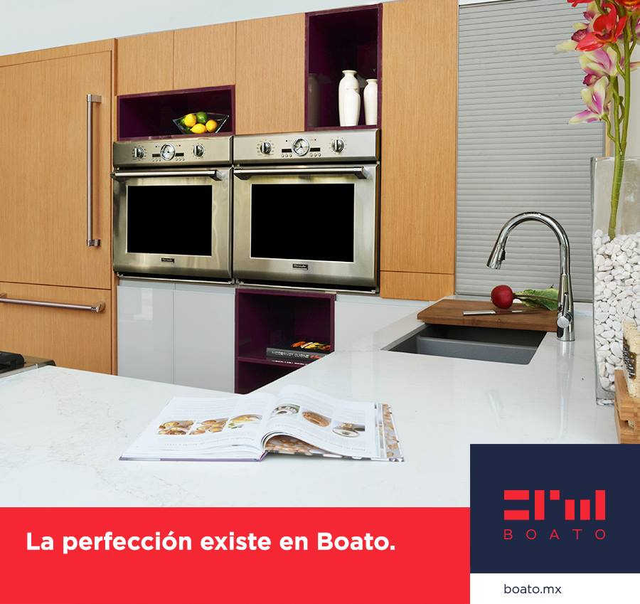 Diseña tu cocina perfecta. Los mejores materiales y acabados nacional y de importación.  #BOATO #InteriorDesign #kitchenDesign https://t.co/G4aLHwf1eI