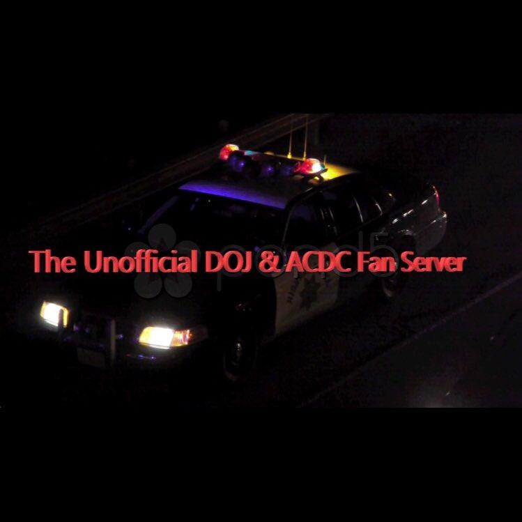 The Unofficial DOJ & ACDC Fan Server (@dojandacdcfan) | Twitter