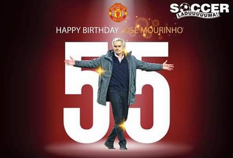 Happy Birthday to my coach Jose Mourinho