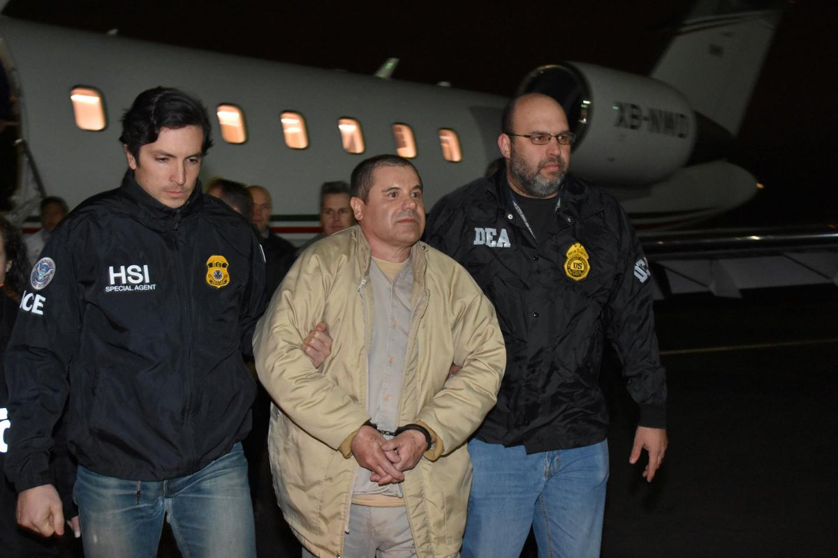 'El Chapo' has promised he won't have any of the jurors in his upcoming trial killed https://t.co/dXfCWckwnq