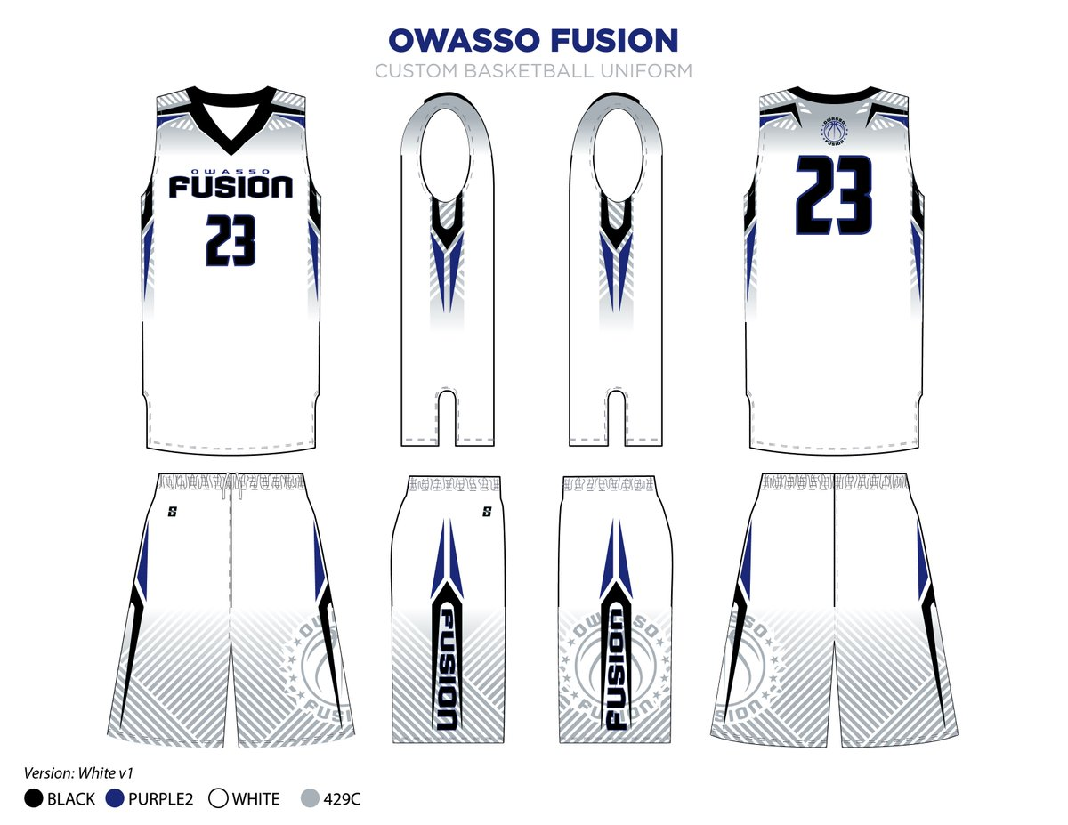 Str8 Sports Inc On Twitter Owasso Fusion Basketball Custommade